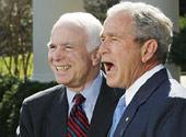 麦凯恩访伊拉克支持增兵