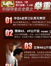 08奥运 张国政 举重 金牌 石智勇 马文广 梦之队