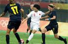 女足2-1险胜瑞典 中国奥运军团首战开门红