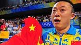 马琳登顶奥运冠军 手举国旗洒下热泪
