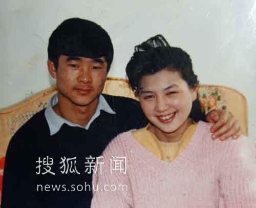 刘伯明和妻子张瑶。