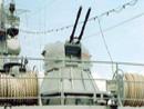 俄军舰上的30毫米机关炮