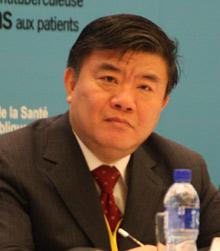 中华人民共和国卫生部长陈竺