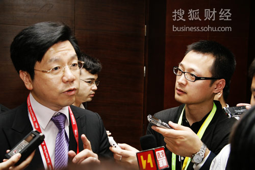 谷歌全球副总裁李开复(图片来源:搜狐财经)
