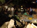 事故现场:郴州火车站