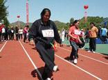 奥运一周年,全民健身日