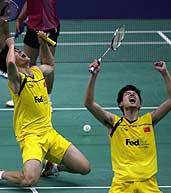 蔡�S,傅海峰,2009羽毛球世锦赛,羽球世锦赛,H1N1流感