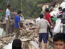 印尼爪哇地震现场