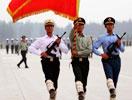 国庆阅兵训练进入冲刺阶段