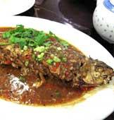 凤城酒家 煎酿鲮鱼
