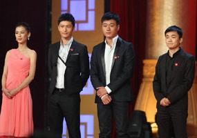《建国大业》首映现场 青年演员盛装亮相
