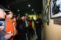 '阿旺扎西讲解登山博物馆'