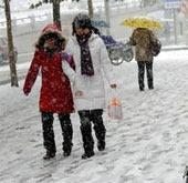 华北入冬来最大降雪