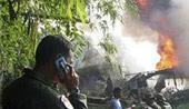 印尼军用运输机坠毁