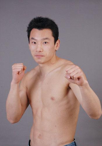 江苏队80公斤级队员 谭宝玉
