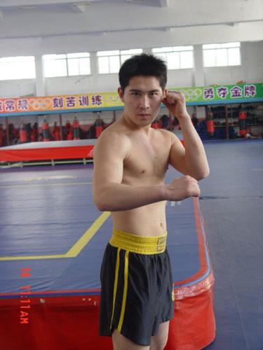 山东队80公斤级队员 徐超
