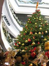 香港旅游,圣诞,香港美景,山顶广场