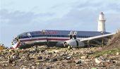 美国客机坠毁