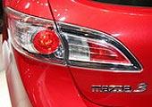 进口Mazda3两厢尾灯
