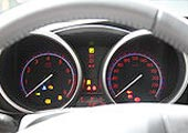 进口Mazda3两厢仪表盘