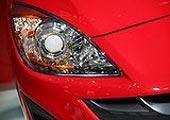 进口Mazda3两厢前大灯