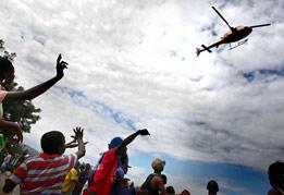 海地地震各国救援扫描
