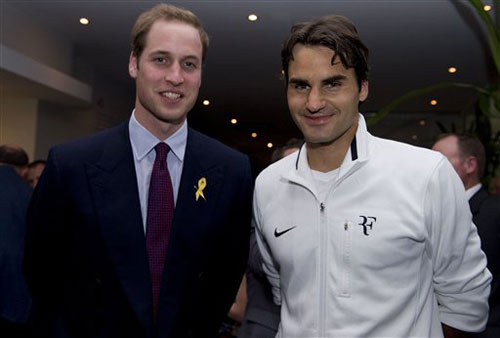 费德勒与威廉王子