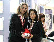 KEYSTONE中国区业务经理Raluca Ciochina&Vinvian Ding