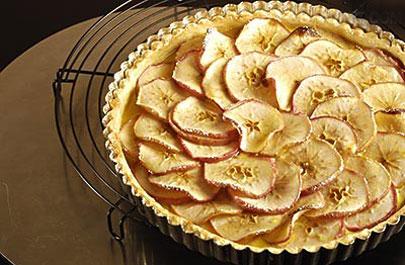 苹果红薯派