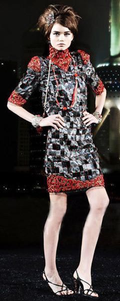 Chanel09/10巴黎-上海高级手工坊系列发布会