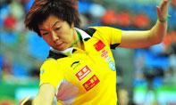 李晓霞,2010世乒赛团体赛