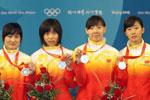 中国女佩团体摘银,鲍埃尔离任