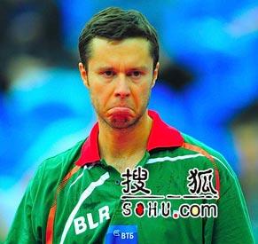 萨姆索诺夫,世乒赛,2010世乒赛团体赛