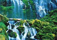 庐山瀑布:最诗意的瀑布