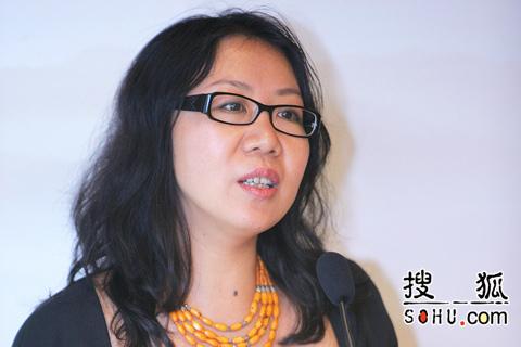 搜狐公司副总裁、总编辑于威女士