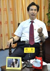 周大生珠宝总裁周宗文,林志玲代言