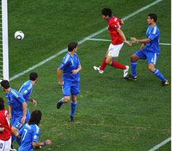 南非世界杯,韩国VS希腊,李正秀