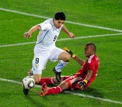 南非世界杯,南非VS乌拉圭,弗兰