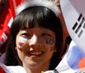 韩国美女含泪微笑
