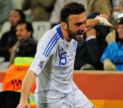 南非世界杯,尼日利亚VS希腊,托罗西迪斯