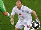 门将失误鲁尼送妙传 世界杯英格兰VS阿尔及利亚