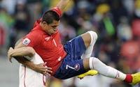 南非世界杯,智利VS瑞士哥