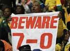 科特迪瓦球迷狂呼7-0