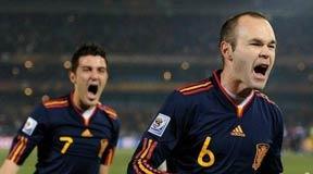 伊涅斯塔,南非世界杯