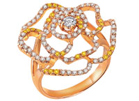 "MaBelle董事马衡,""皇牌集""钻饰系列, Leo Diamond单颗钻石戒指,MaBelle幸福对戒"