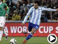 阿根廷-特维斯(11号)破门得分
