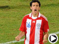 巴拉圭-里韦罗斯(16号)破门得分