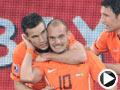 荷兰-斯内德(10号)破门得分