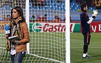 卡西和女友的甜蜜世界杯