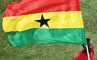 年轻的战场,加纳创造历史